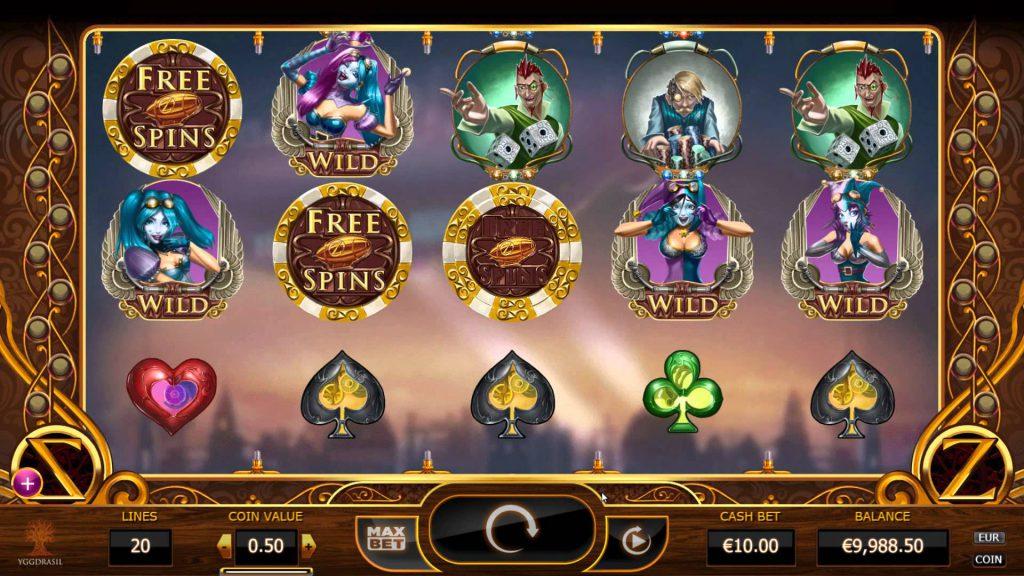 официальный сайт игровой слот казино цеппелин