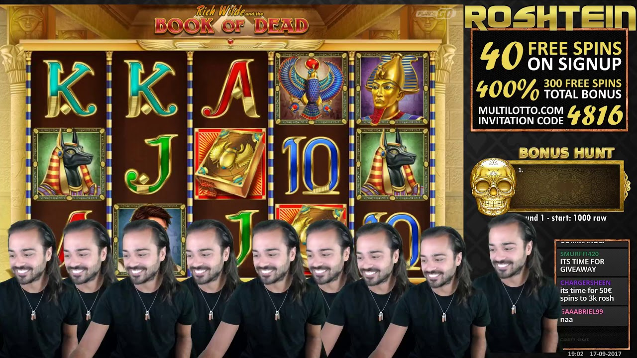 live casino online book of raw