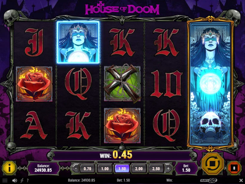 Play For Free House Of Doom Slot