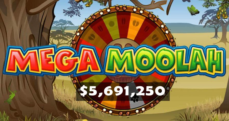 Mega Moolah Jackpot Won!