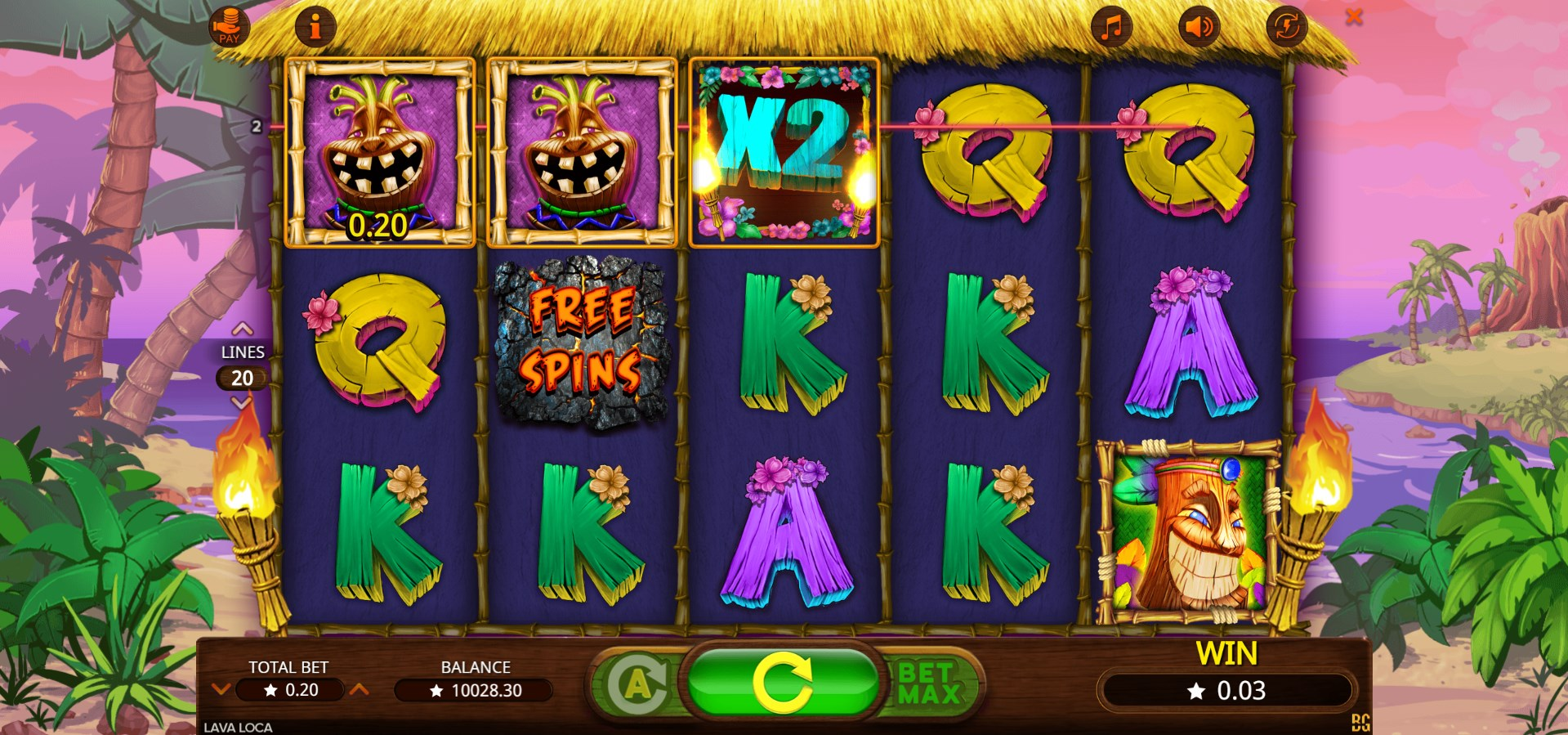 Lava Loca Slot Machine