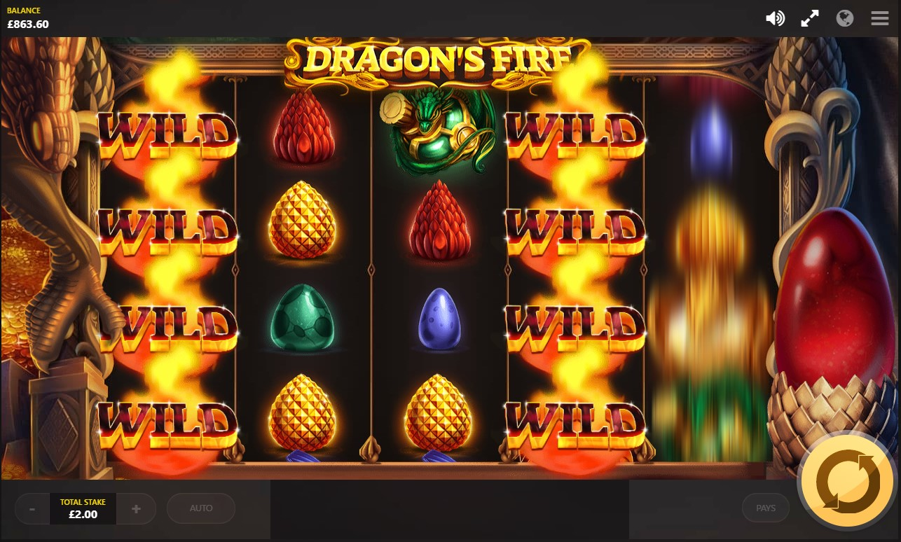 Play for free Dragon's Fire