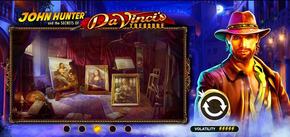 Play for free John Hunter: Da Vinci's Treasure