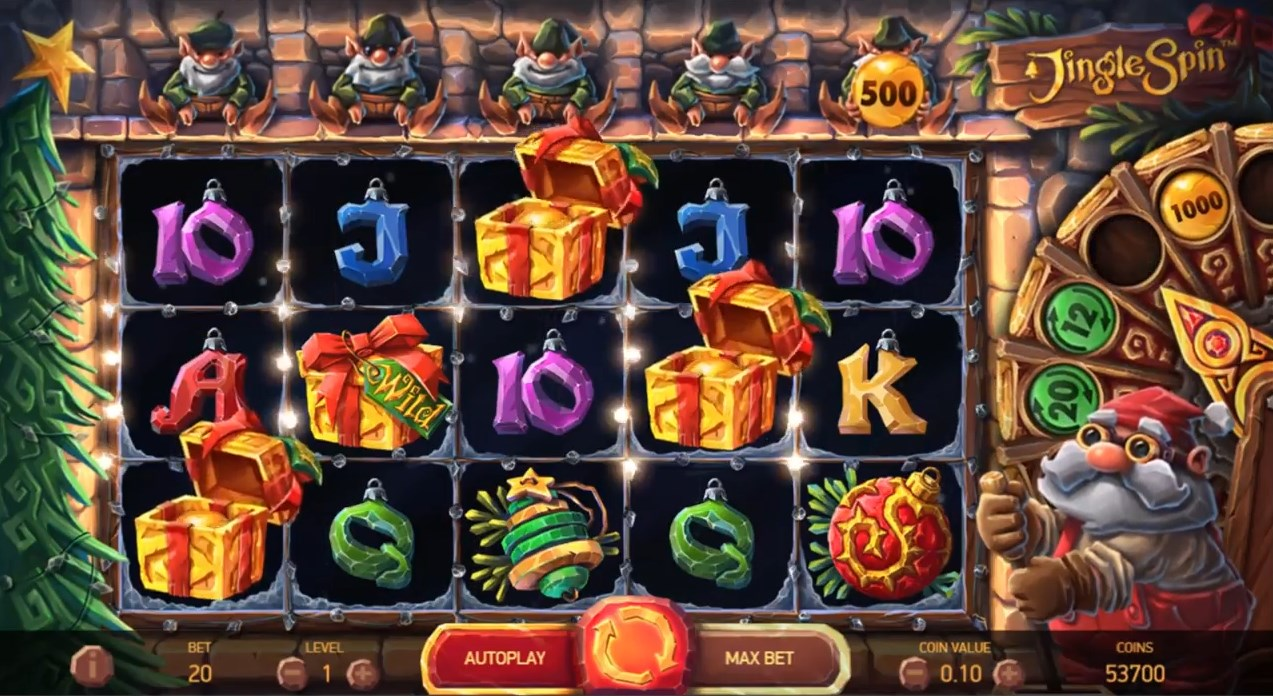 Jingle Spin slot play for free