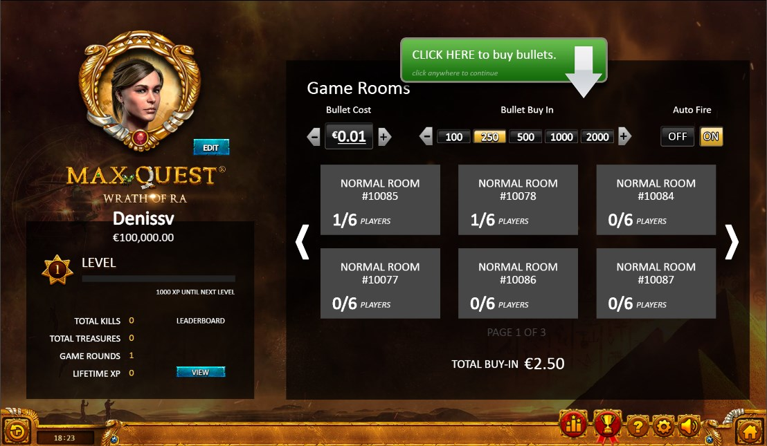Max Quest slot play for free