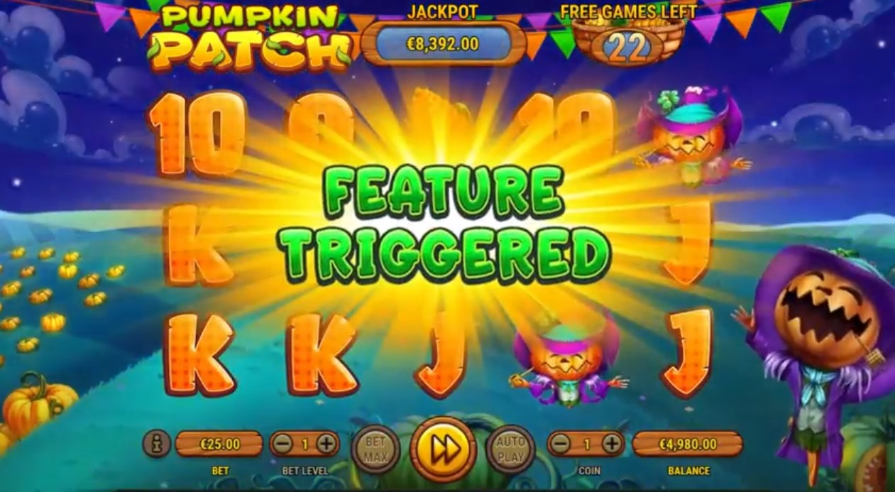 Pumpkin Patch slot play for free