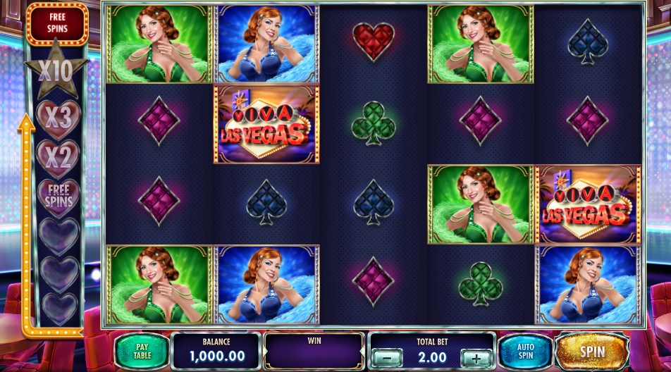 Play for free Viva Las Vegas