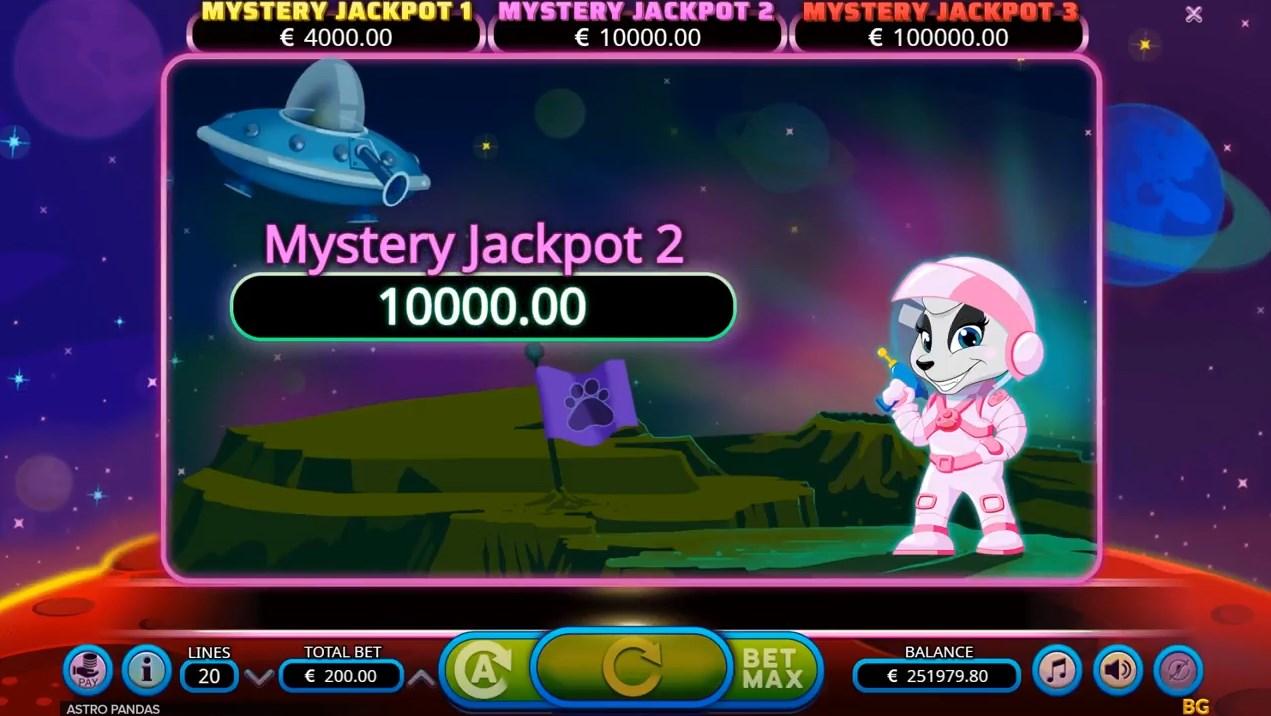 Astro Pandas slot play for free