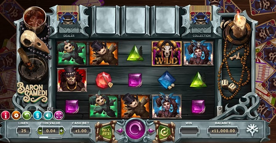 Baron Samedi slot play for free