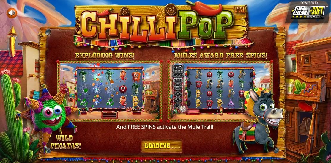 Slot machine Chilli Pop