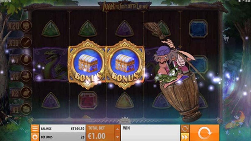 Ivan and the Immortal King slot play for free