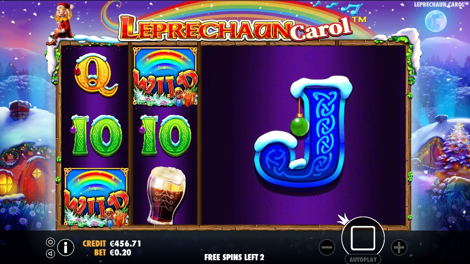 Leprechaun Carol slot play for free