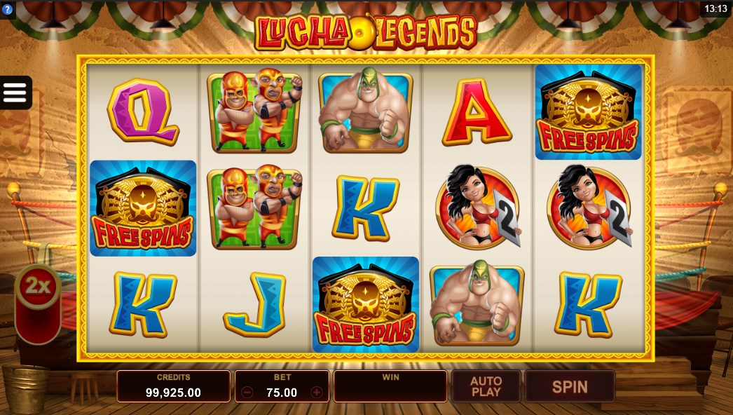 Lucha Legends slot play for free