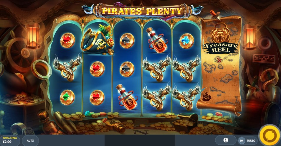 Play for free Pirates` Plenty