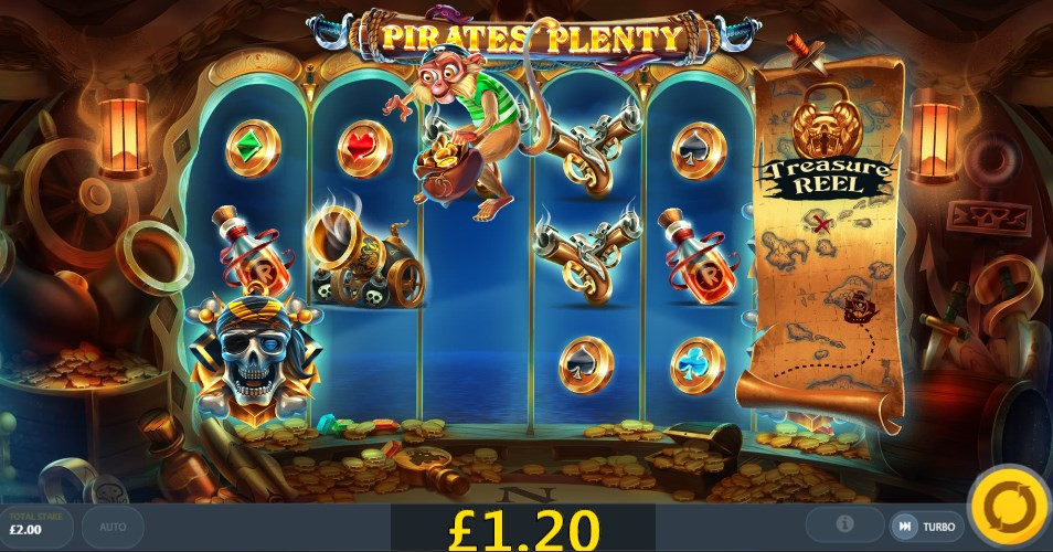 Play without registration Pirates` Plenty