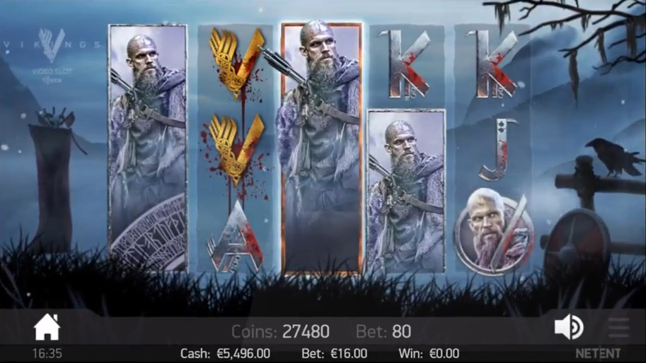 Vikings slot play for free