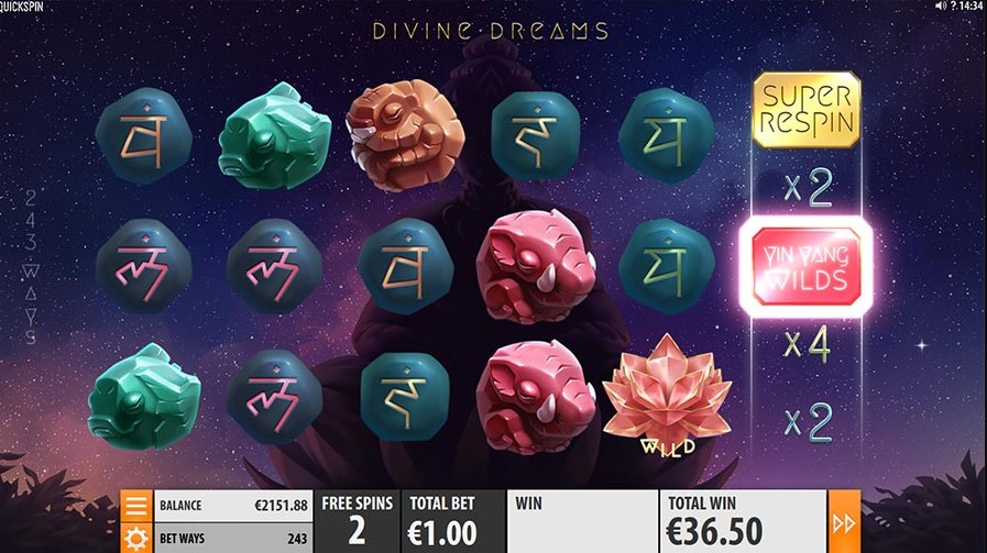 Divine Dreams  play for free