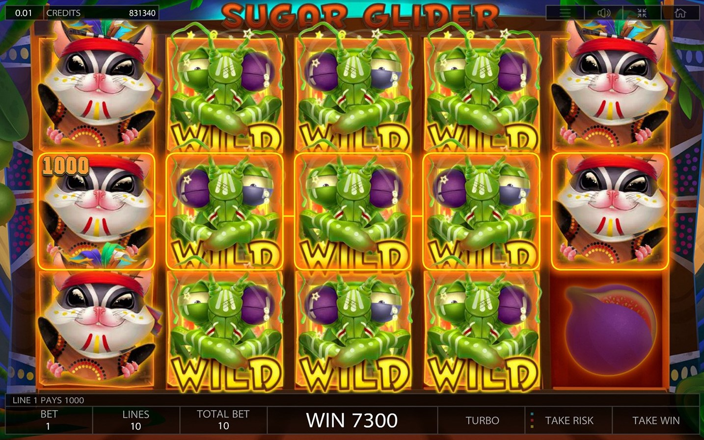 Sugar Glider slot play for free