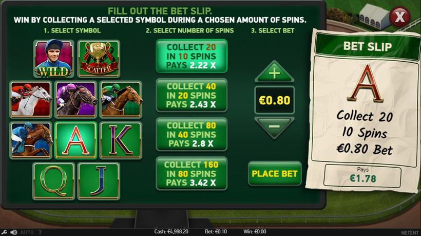 play free horse racing slots
