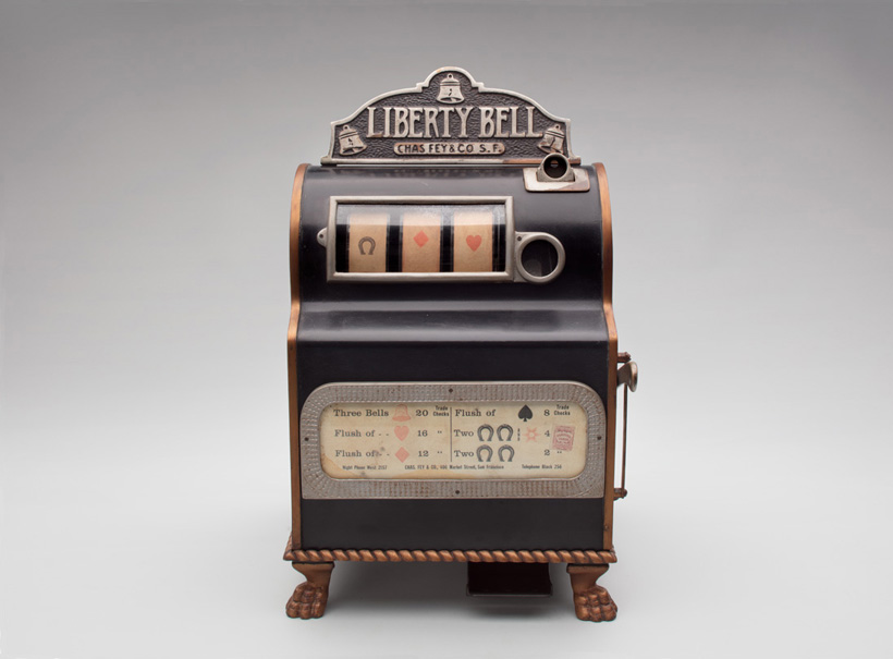 first slot machines