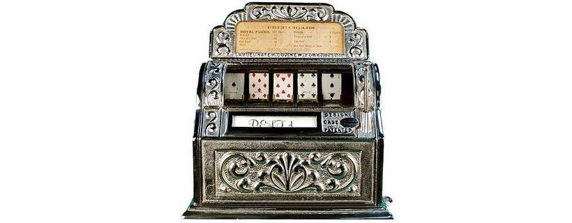 history of casino slot machines