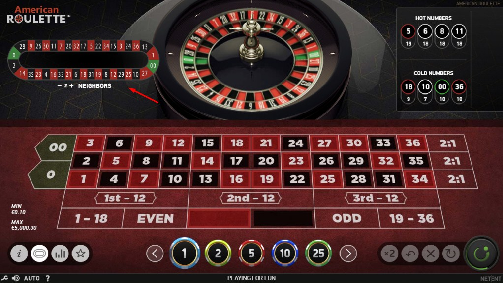 play american roulette online