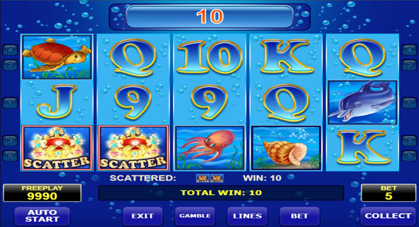 blue dolphin casino slot