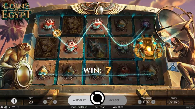 play free egypt slots