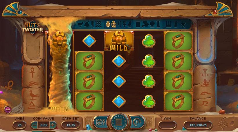 play egyptian themed casino slot