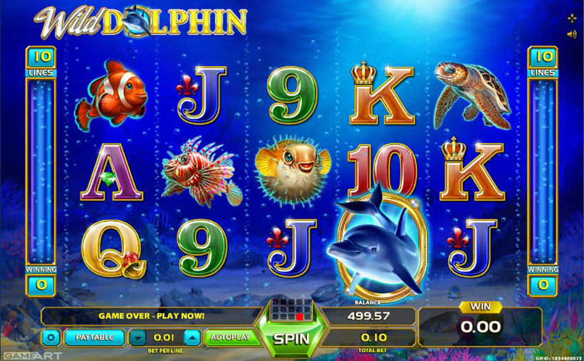 play free dolphin slot