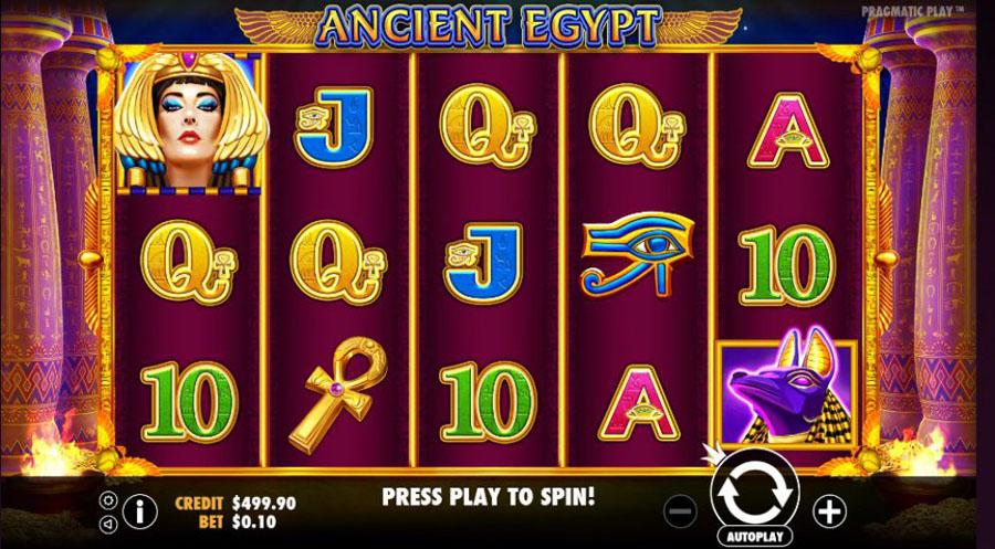 play free egypt slots no registration