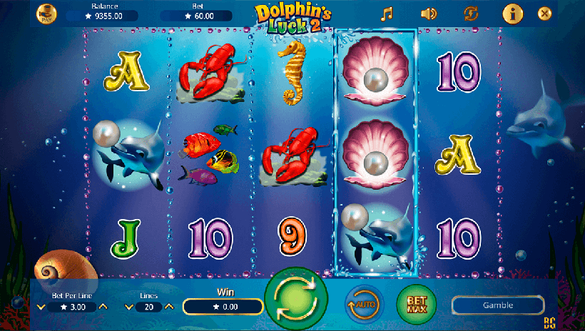 play dolphin video slot