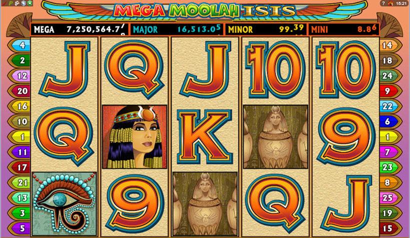 egypt themed casino slots