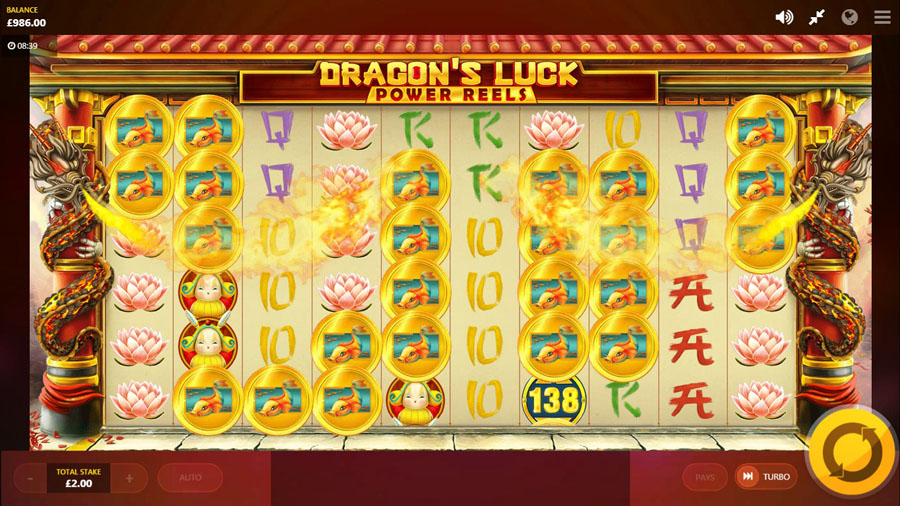 dragons online slots