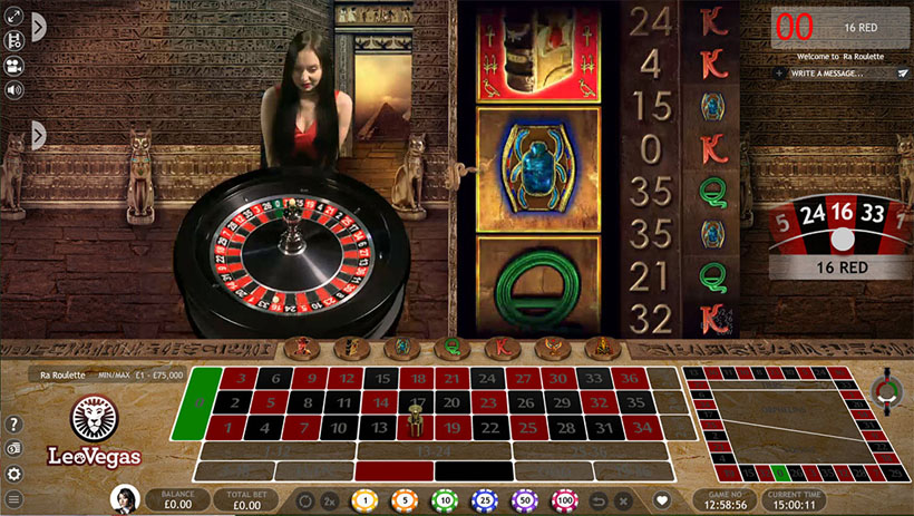 how live dealer roulette works