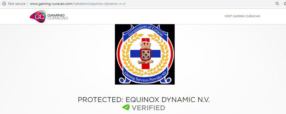 online casino license validation