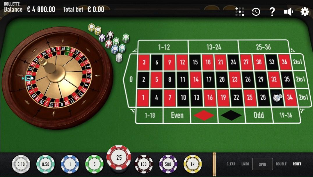 online roulette versions