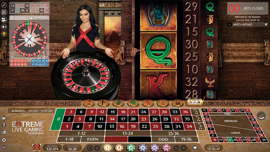 european live dealer roulette