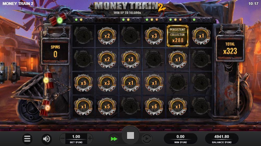 money train bonus feature