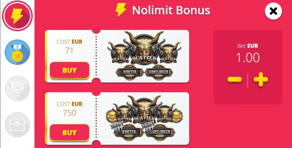 online slots feature drop